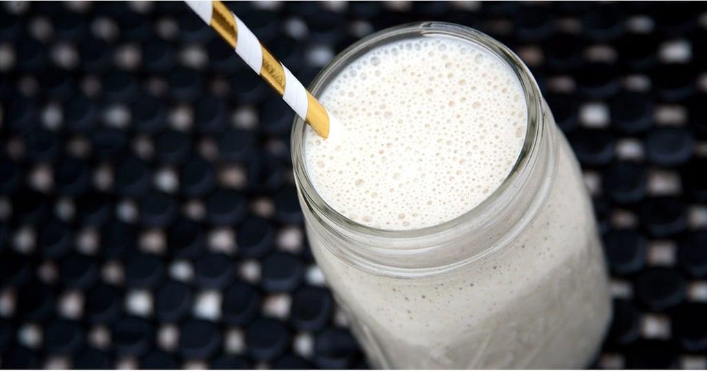 banana cream overnight oats smoothie