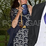 The Duchess of Cambridge, Kate Middleton, wore Erdem to Hannah Gillingham and Robert Carter's wedding.