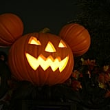 Scary Mickey Mouse Pumpkin