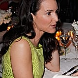 Kristin Davis hung out at a party benefiting Oxfam and the Green Carpet Challenge.