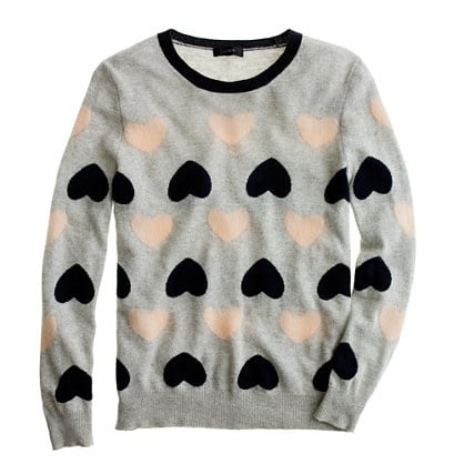 I love the heart motif on this cozy heartbreaker sweater ($98