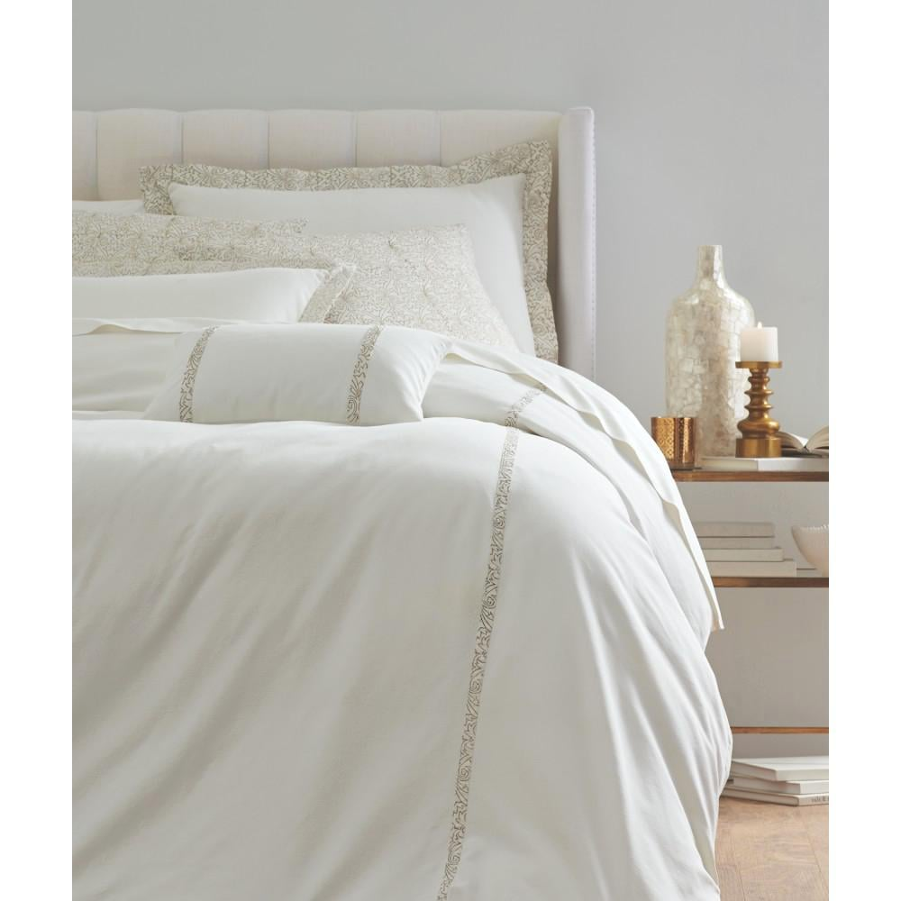 Roseclair White 6-Piece Queen Duvet Set ($262, originally $349)