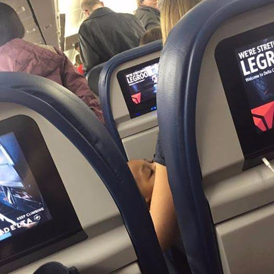 Stranger Helps Mum Flying Alone With Twins