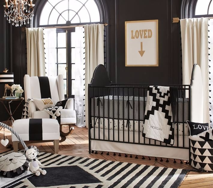Black And White Nursery Decor Popsugar Family