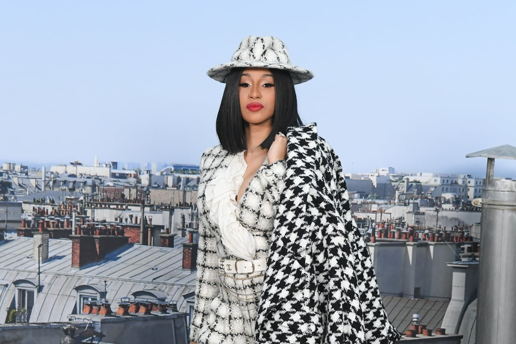 Cardi B at Chanel Spring/Summer 2020 Show