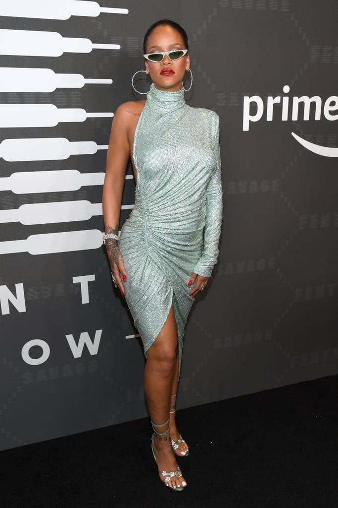 New York Fashion Week Rihanna