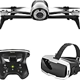 Bebop 2 Quadcopter With Skycontroller 2 and Cockpit FPV Glasses