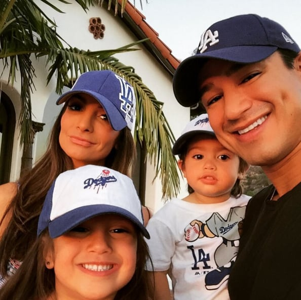 "Mario Lopez and his wife, Courtney, have two crazy-adorable kids! The couple welcomed their first child, daughter Gia Francesca, in September 2010, and Mario proposed the following year. After tying the knot in Mexico in December 2012, they revealed a few months later that they were expecting a second child, Dominic (""Nico""), who was born in September 2013. Mario has shared more than a few sweet snaps of his little ones over the past couple years, including an epic picture of his son rocking a Saved by the Bell t-shirt. Keep reading for a look at some of Mario and Courtney's best family photos, then check out some of his hottest shirtless moments ever."