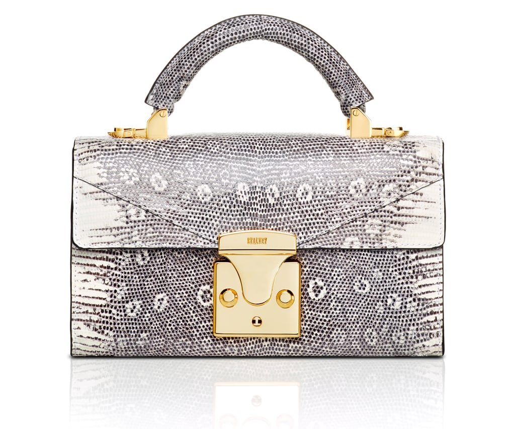 Stalvey Top Handle Mini Handbag in Lizard