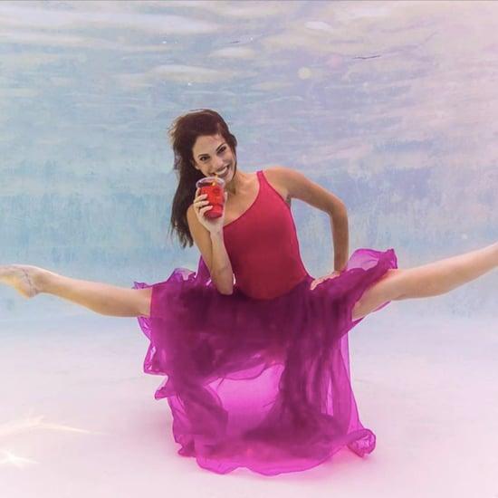 Photos de Ballerines Sous l'Eau
