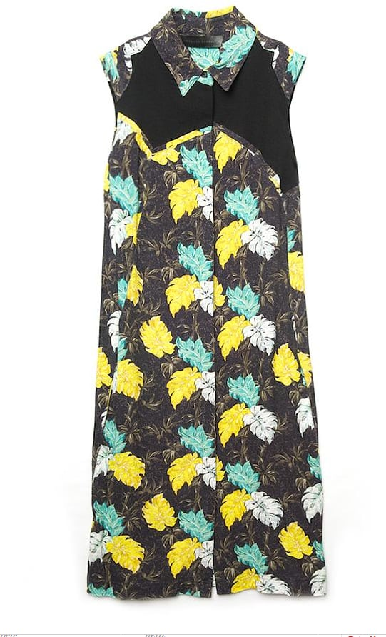 We plan on styling this printed shirtdress with flats during the day and heels for Miami Swim Week afterparties.  Proenza Schouler Sleeveless Shirt Dress ($525, originally $1,050)