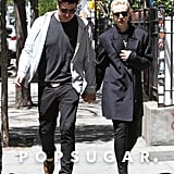 Carey Mulligan and Marcus Mumford held hands in the city.