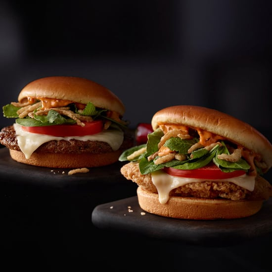 McDonald's Signature Sriracha Burger With Kale