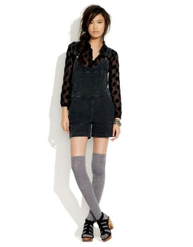 Polly Coveralls in Ambrasion Wash ($125)