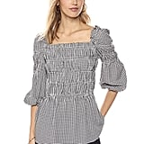 Ella Moon Women's Kenzie Ballon Sleeve Smock Top