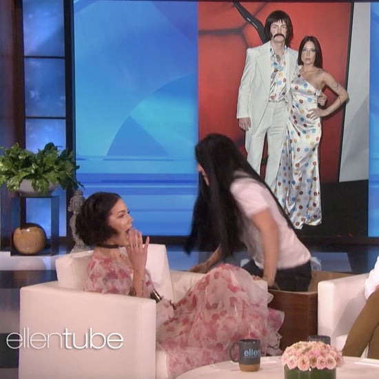 Halsey Getting Scared on The Ellen DeGeneres Show Video