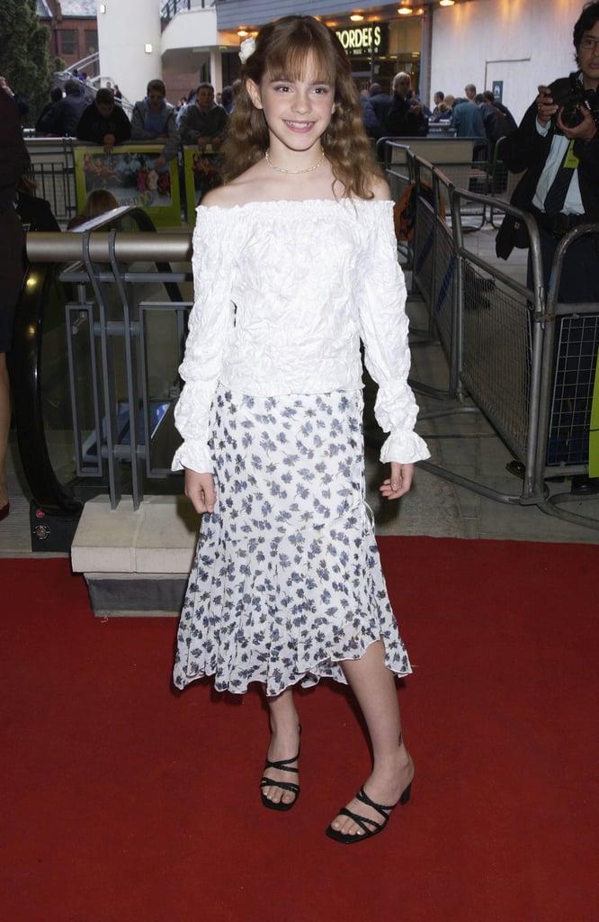 Emma Watson in 2002