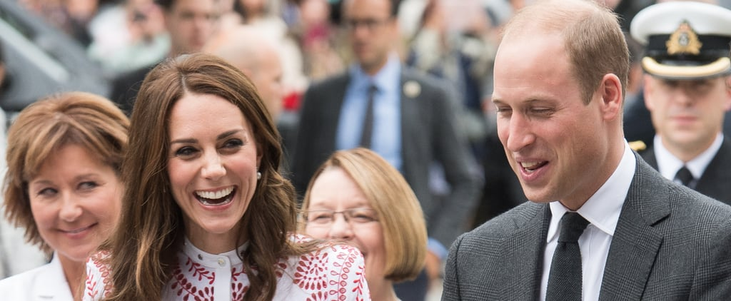 The Duchess of Cambridge Can't Stop Laughing at Prince William's Jokes During Their Tour of Canada