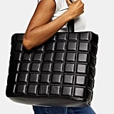 Our Pick: Topshop Riley Black Quilted Tote Bag