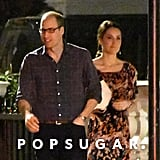 Prince William and Kate Middleton Leaving Pippa's House 2017