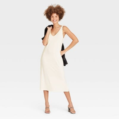 For Outdoor Hangs: A New Day Slim Fit Sleeveless Knit Dress