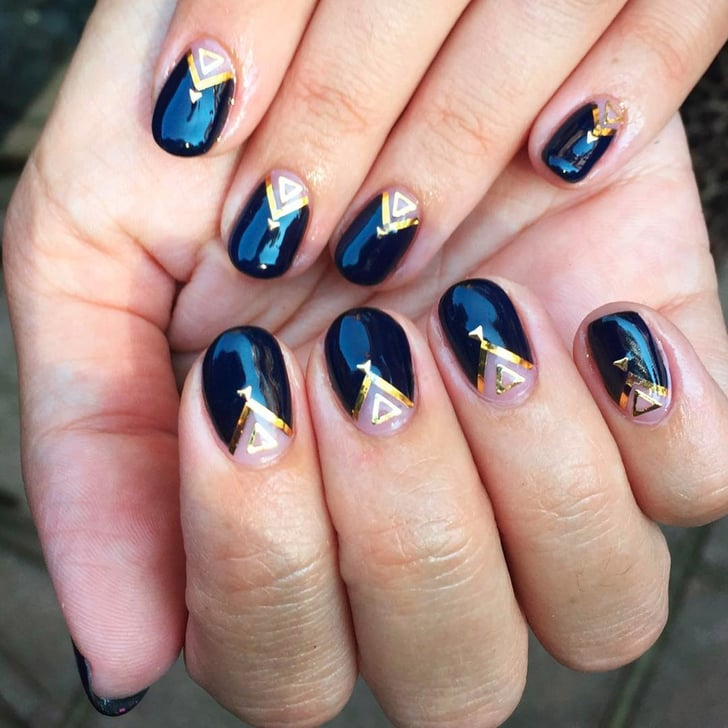 Simple Nail Art For Short Nails: Nail Art Ideas For Short Nails