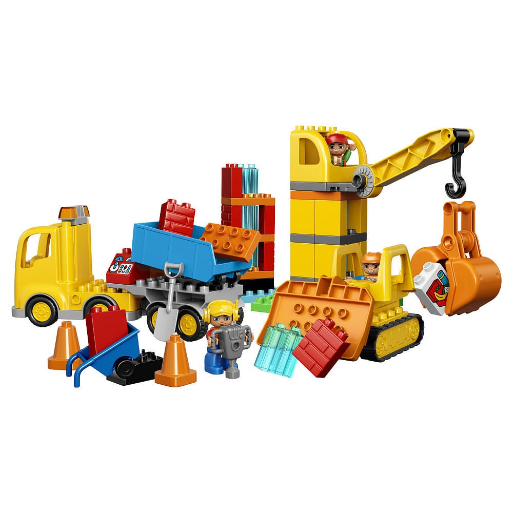 For 3-Year-Olds: Lego Duplo Big Construction Site