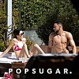 Kendall Jenner and Ben Simmons at the Pool in Miami