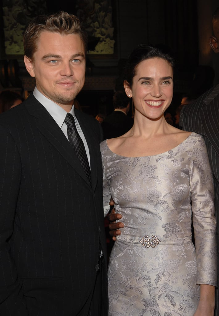 He and his Blood Diamond costar Jennifer Connelly smiled together on the red carpet at the movie's premiere in December 2006.