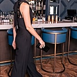 Gal Meets Glam Collection Melanie Lace Back Wide-Leg Jumpsuit