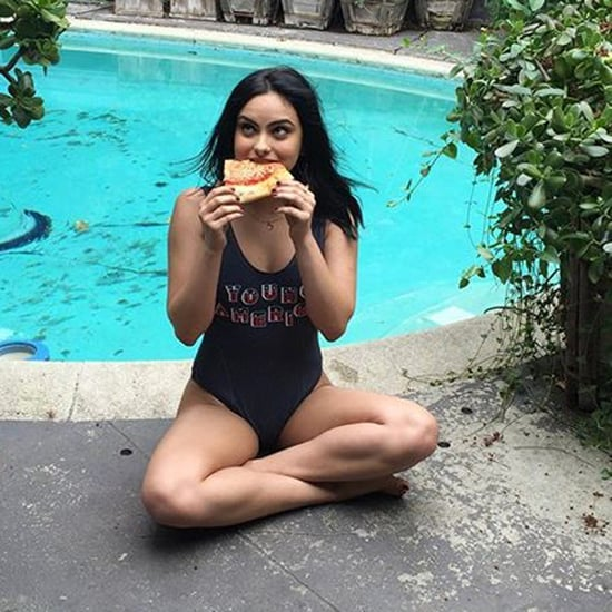 Camila Mendes Wearing a Swimsuit