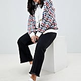 ASOS Houndstooth Cardigan in Brights