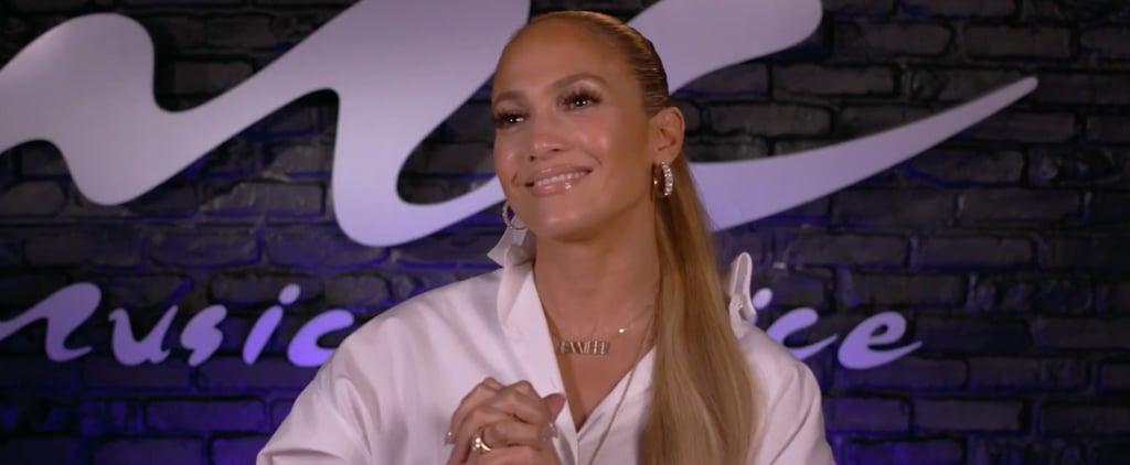 Jennifer Lopez Shares Advice For New Moms