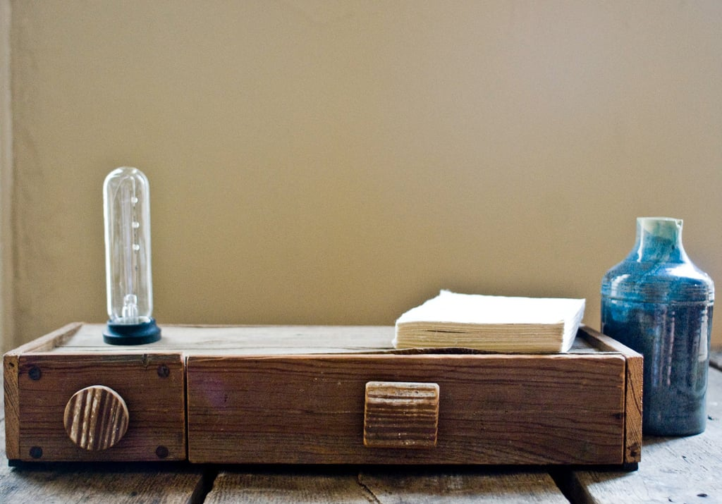 Bedside Lamp With Drawer ($95)