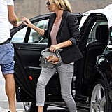 Kate Moss went to lunch.