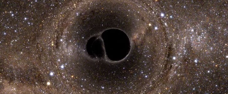 This Black Hole GIF Is Utterly Mesmerizing