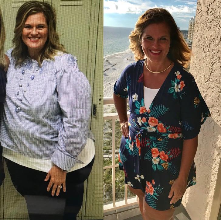 128-Pound Weight Loss Transformation With 9Round   POPSUGAR ...
