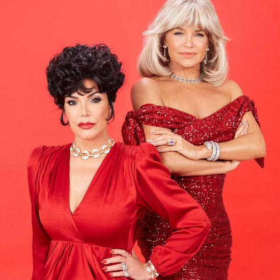 Kris Jenner and Yolanda Hadid's Dynasty-Inspired Shoot