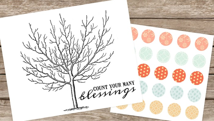 Count Your Blessings Tree