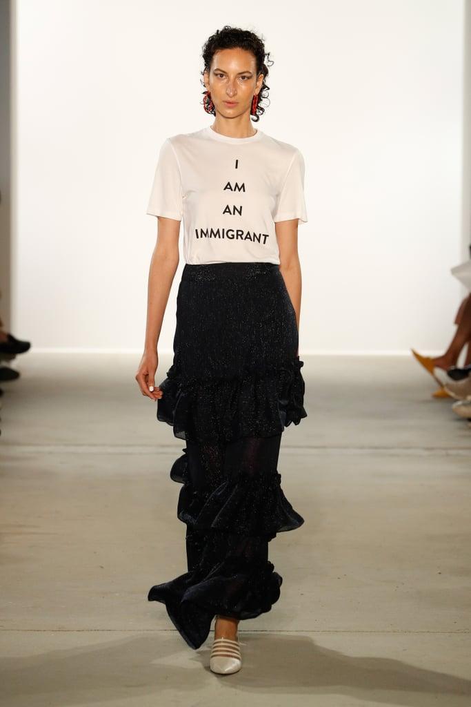 Prabal Gurung Made a Statement at New York Fashion Week
