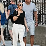 Jennifer Lopez and Alex Rodriguez in Paris June 2017