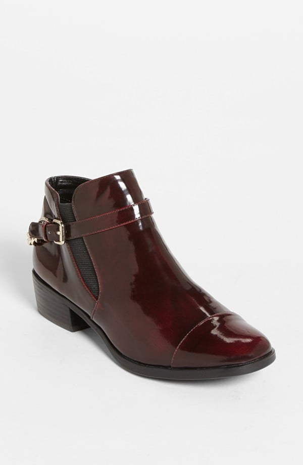 It's hard to resist the gorgeous burgundy hue on these Tildon Bailey boots ($80), am I right?