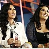 Pictured: Huda Kattan and Mona Kattan