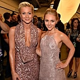 Kellie Pickler posed with AnnaSophia Robb.