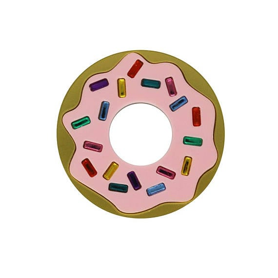 Donuts Forever Brooch ($34)