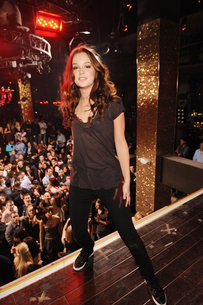Photos of Leighton Meester Performing in Las Vegas