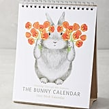 The Bunny 2017 Desk Calendar ($18)