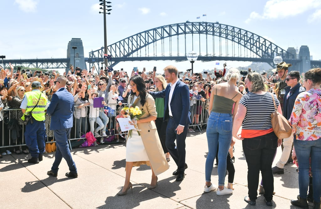 Harry and Meghan Head Down Under