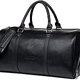 Genuine Leather Weekender Overnight Duffel Bag