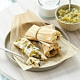 Roasted Poblano and Cheese Tamales